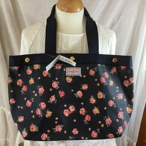 Cath Kidston London Studded Tote Wimbourne Navy